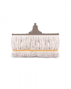 Behroob Floor Cotton Mop with a metal bar in back  40 cm