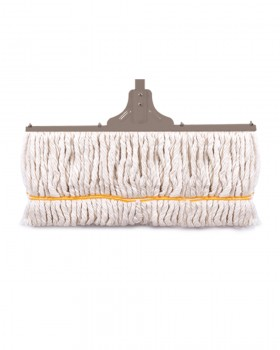 Behroob Floor Cotton Mop with a metal bar in back 50 cm