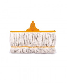 Golchin Floor Cotton Mop with a metal bar in back  40 cm