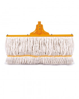 Golchin Floor Cotton Mop with a metal bar in back  50 cm
